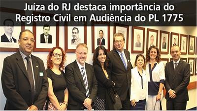 JUÍZA DO RJ DESTACA IMPORTÂNCIA DO REGISTRO CIVIL