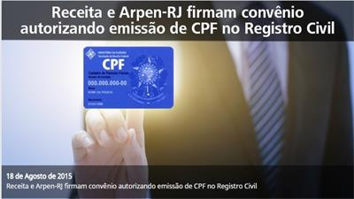 Receita e Arpen-RJ firmam convênio